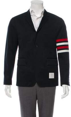 Thom Browne Notch-Lapel Colorblock Blazer