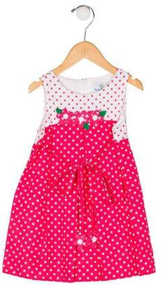 Florence Eiseman Girls' Polka Dot Dress