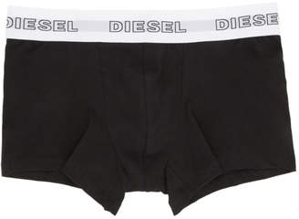 Diesel Three-Pack Multicolor Logo Boxer Briefs
