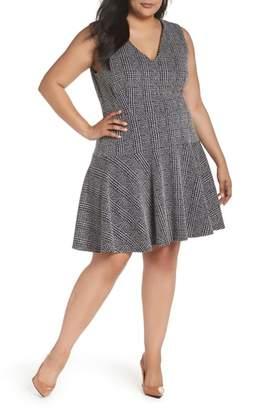 Eliza J Drop Waist Sleeveless Dress