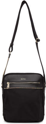 Paul Smith Black Nylon Crossbody Bag
