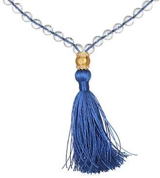 Blue Tassel Necklace - ShopStyle