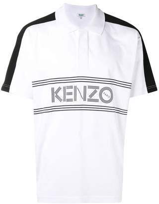 Kenzo front-logo polo shirt