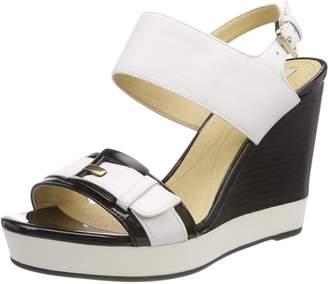 Geox Women's D Janira E Wedge Sandal