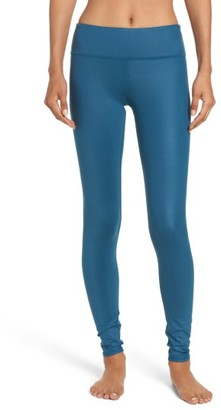 Women's Alo Airbrushed Glossy Leggings $78 thestylecure.com