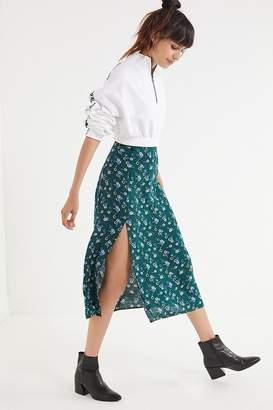 Urban Outfitters Bree Cherry Midi Skirt
