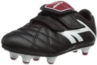 Hi-Tec Unisex League Pro Si Ez Junior Football Shoes - Black (Black/White/Red 021), 10 Child UK (29 EU)