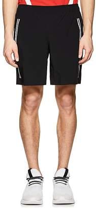 BLACKBARRETT Men's Striped Gym Shorts