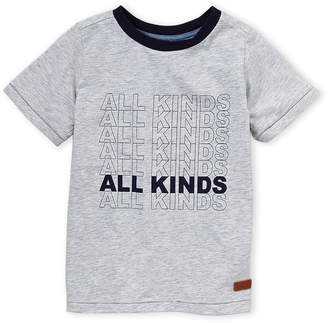 7 For All Mankind Boys 8-20) Heather Grey All Kinds Tee