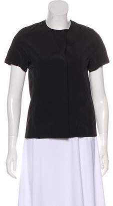Marni Short Sleeve Snap-Up Jacket