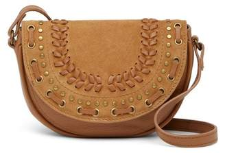 Lucky Brand Kady Small Leather & Suede Crossbody Bag