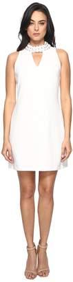 Taylor Embellished Stretch Crepe Dress Women's Dress