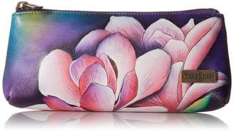 Anuschka Hand Painted Leather Women'S Cosmetic Case