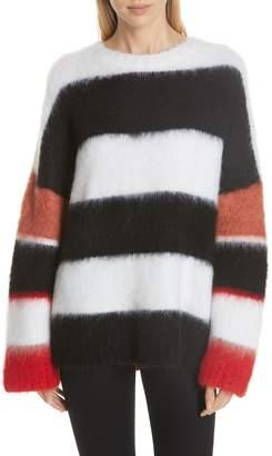 Cinq à Sept Damiana Mixed Stripe Sweater