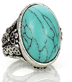 Lucky Brand Butterfly Turquoise Ring