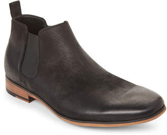 Kenneth Cole Reaction Black Guy Leather Chelsea Boots