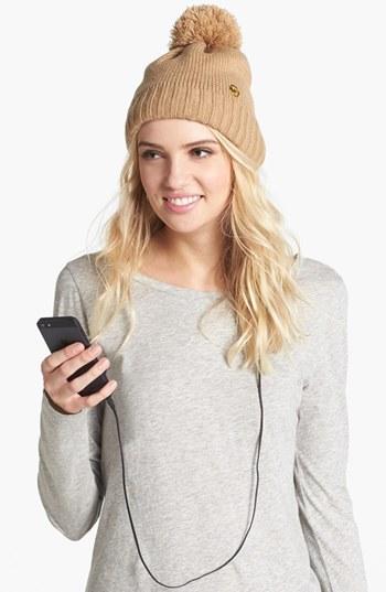 MICHAEL Michael Kors 'Tech' Knit Hat