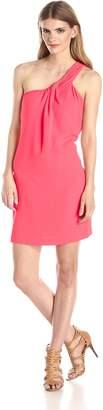 Cynthia Steffe Cece By CeCe by Women's Aubrey One-Shoulder Draped Dress