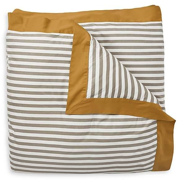 DwellStudio Draper Stripe Duvet Cover, Full/Queen