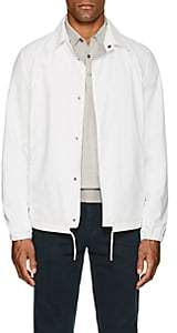 Herno MEN'S TECH-POPLIN RAINCOAT-WHITE SIZE XL