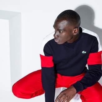 Lacoste Men's SPORT Colorblock Fleece Tennis Sweatshirt