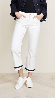 Carven Flared Cuff Jeans