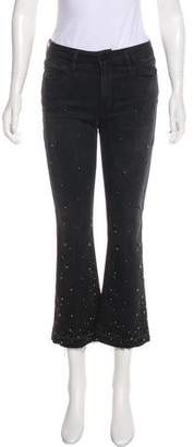 Frame Mid-Rise Embellished jeans w/ Tags