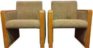 One Kings Lane Vintage Midcentury Accent Chairs - Set of 2 - nihil novi