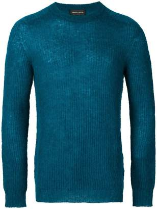 Roberto Collina slim-fit knitted pullover