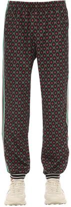 Gucci Gg Logo Cotton Blend Track Pants