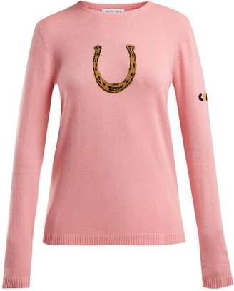 Bella Freud Horseshoe cashmere-blend sweater