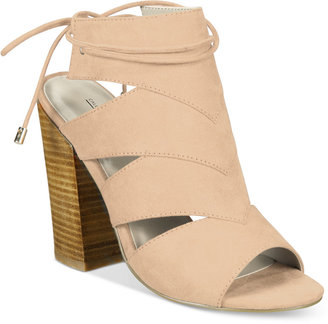Call It Spring Asadolla Block-Heel Sandals $59.50 thestylecure.com