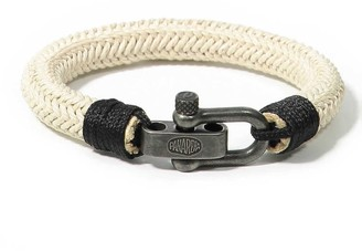 Waimea Panareha Cotton Bracelet in Beige