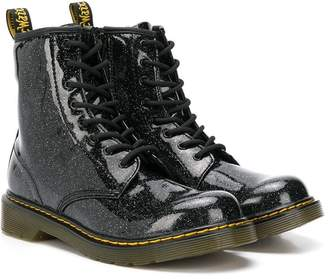 Dr. Martens Kids TEEN glitter ankle boots