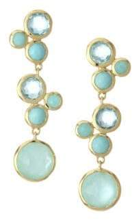 Ippolita Lollipopé 18K Yellow Gold& Multi-Stone Linear Earrings - Gold