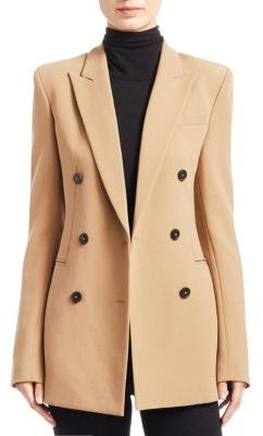 Theory Power Buttoned Jacket