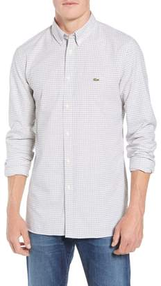 Lacoste Slim Fit Check Sport Shirt