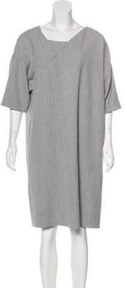 Chalayan Draped Knee-Length Dress