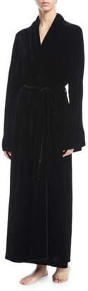 Christine Lingerie English Rose Velvet Long Robe