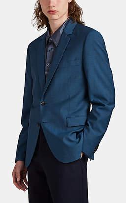 Paul Smith Men's Wool-Mohair Two-Button Sportcoat - Dk. Blue