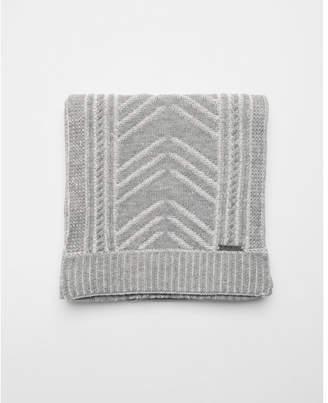 Express textured chevron scarf