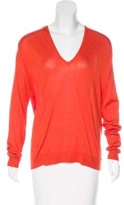 Balenciaga Silk & Cashmere Knit Sweater w/ Tags