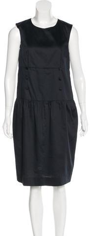 Saint LaurentYves Saint Laurent Sleeveless Knee-Length Dress