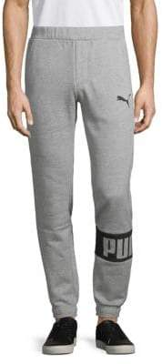 Puma Rebel Logo Sweatpants