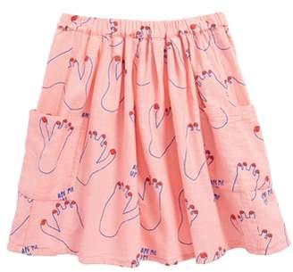 Bobo Choses Footprint Skirt
