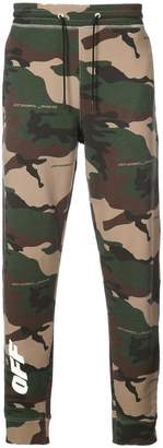 Off-White camouflage print sweatpants