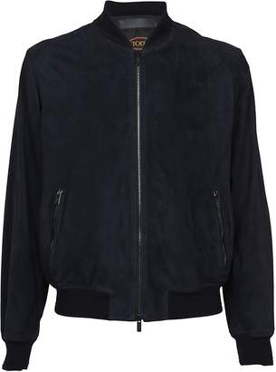 Tod's Suede Bomber
