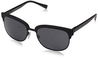 Burberry Men's 0BE4232 346487 Sunglasses, Rubber/Matte Black/Grey