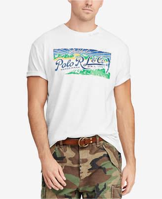 Polo Ralph Lauren Men Big & Tall Great Outdoors Classic-Fit T-Shirt