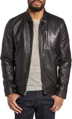 LAMARQUE Leather Racer Jacket